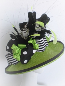 Paula Singleton's 2013 Kentucky Derby Museum Hat