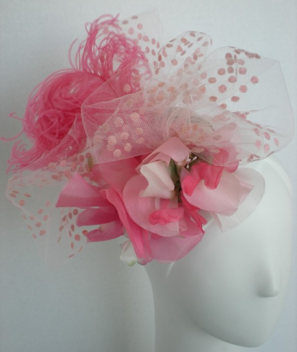 Floral Fascinator for Spring/Summer 2014